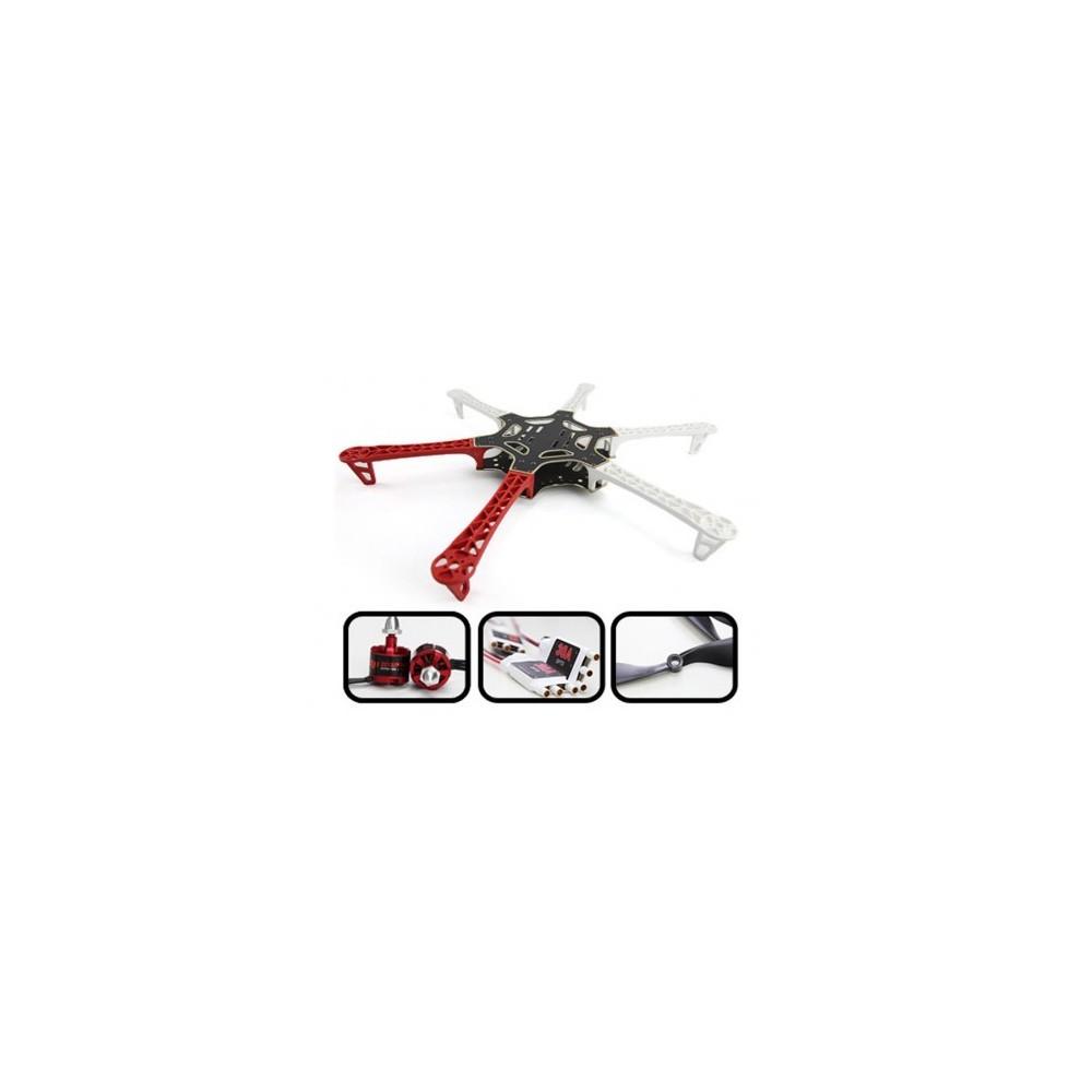 Dji f550 arf kit with motors esc props for Dji motors and esc