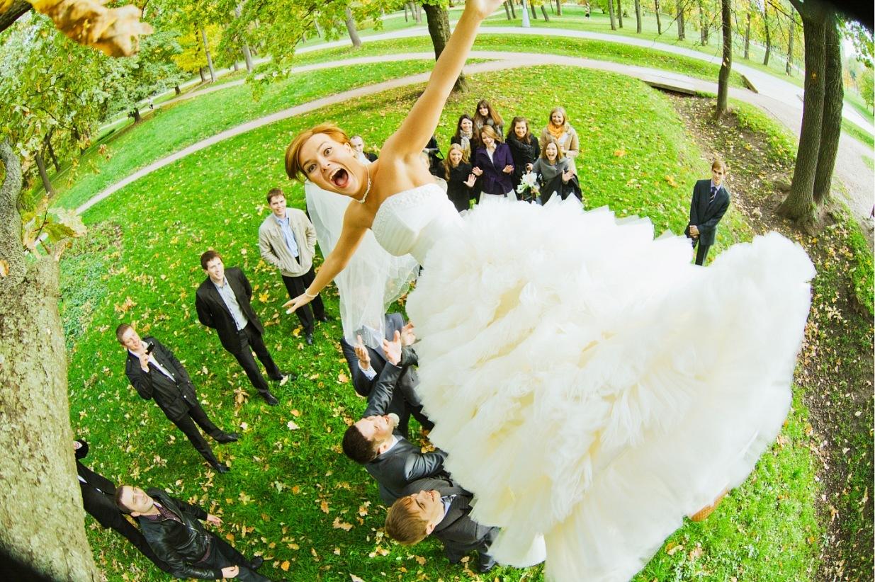 Необычно красивая свадьба фото