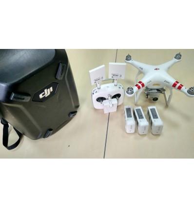 Квадрокоптер DJI Phantom 3 Professional (комплект) Рюкзак Hardshell, антенны ARGtek)