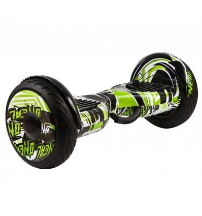 Гироскутер Smart10.5 Balance Wheel NN Граффити Зеленое