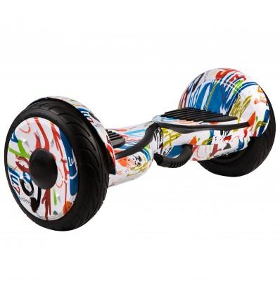 Гироскутер Smart10.5 Balance Wheel NN Граффити Белое
