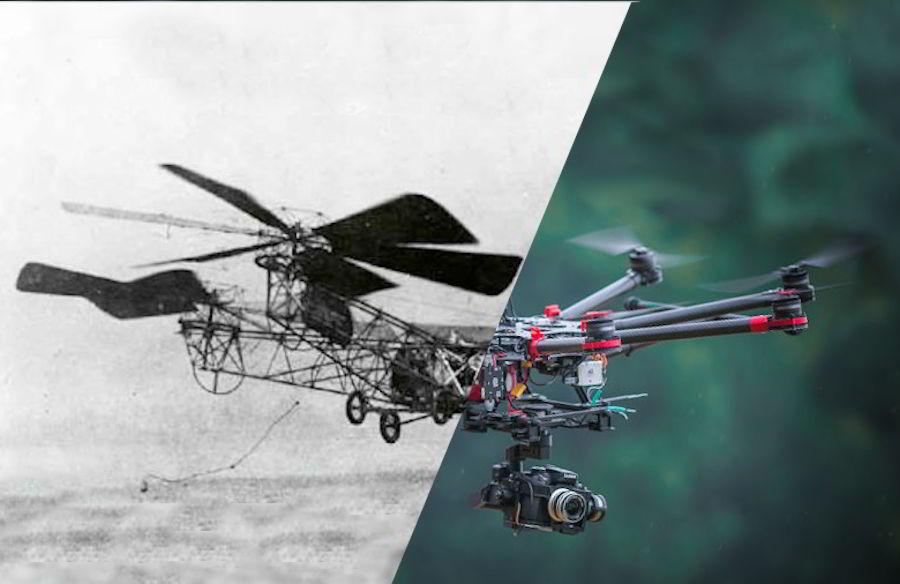 История и будущее квадрокоптеров и дронов