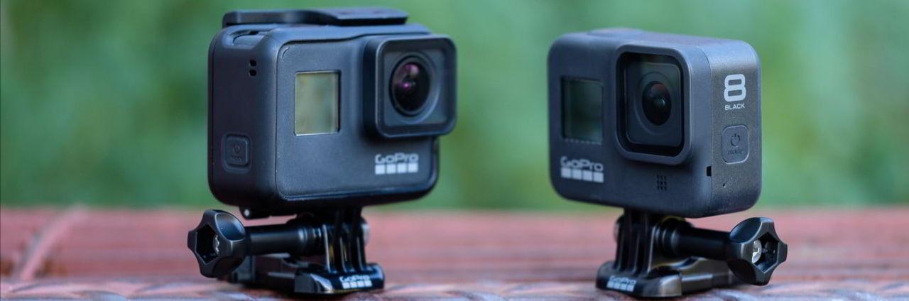 Квадрокоптер для моделей камер GoPro Hero8 и Hero7