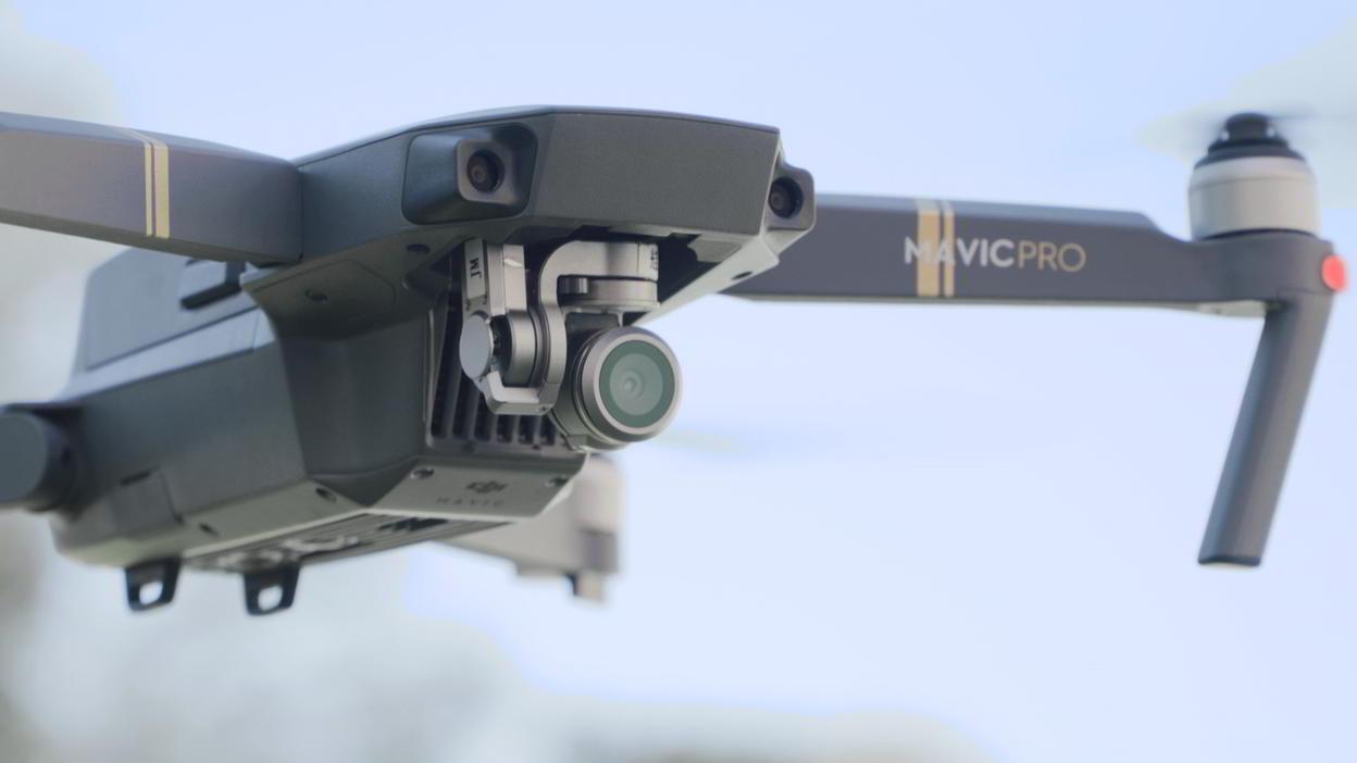 Камера квадрокоптера Dji Mavic Pro