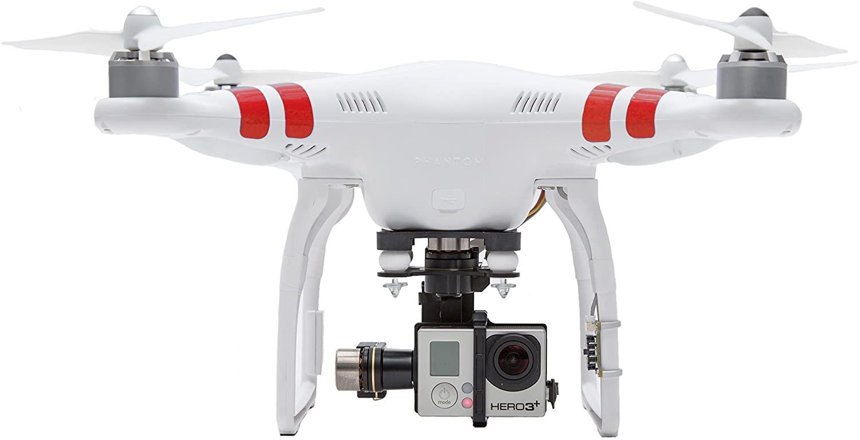 Квадрокоптер DJI Phantom с камерой GoPro для моделей камер GoPro Hero8 и Hero7