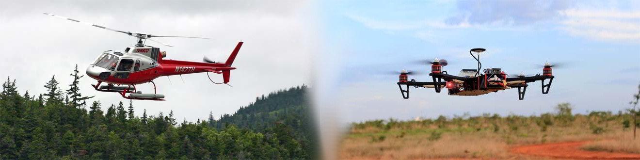 Отличительные черты квадрокоптера от вертолета