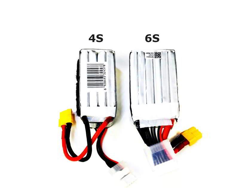 Напряжение и количество ячеек lipo батарей