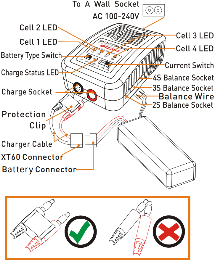 Схема зарядного фантом